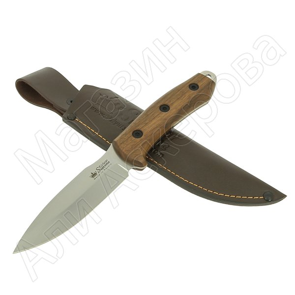 Нож Corsair Kizlyar Supreme (сталь AUS-8 SW, рукоять орех)