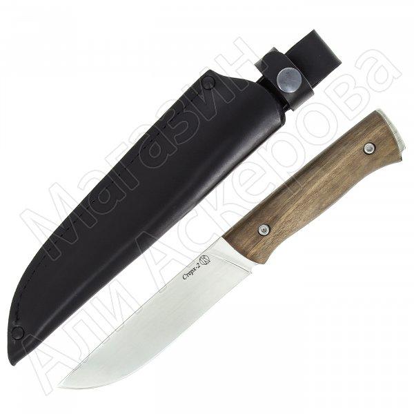 Нож Стерх-2 Кизляр (сталь AUS-8, рукоять орех)