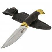 Нож Беркут (сталь 65Х13, рукоять черный черный граб)