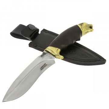 Разделочный нож Борз (сталь D2, рукоять черный граб)