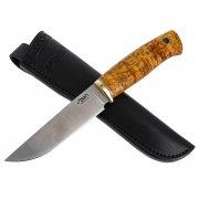 Нож Джек (сталь M390, рукоять стабилизированная береза)