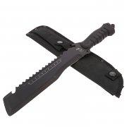Нож Экспедиционный Саро (сталь 65Г, рукоять резина)