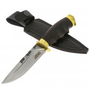 Нож Енот (сталь Х12МФ, рукоять черный граб) арт.11212