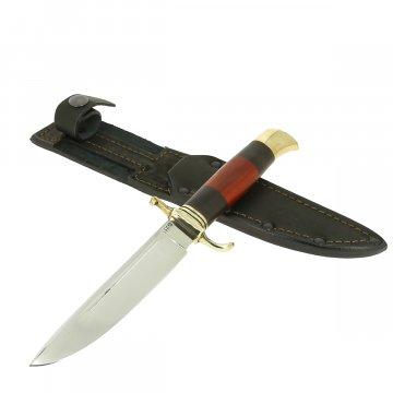Нож Финка НКВД (сталь 95Х18, рукоять черный граб, падук)