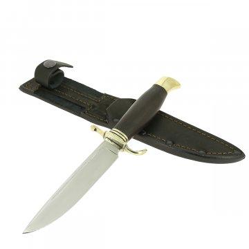 Нож Финка НКВД (сталь 65Х13, рукоять черный граб)