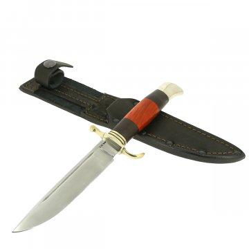 Нож Финка НКВД (сталь Х12МФ, рукоять черный граб, падук)