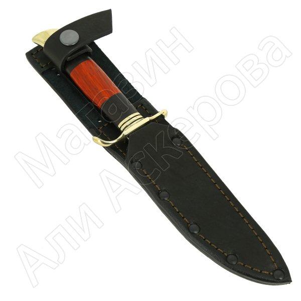 Нож Финка НКВД (сталь Х12МФ, рукоять черный граб, падук) арт.11500