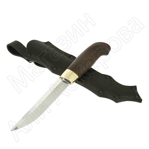 Нож Финский (сталь 95Х18, рукоять черный граб)
