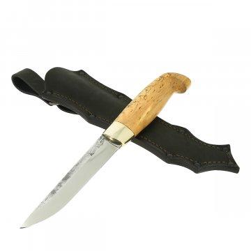 Нож Финский (сталь 95Х18, рукоять карельская береза)