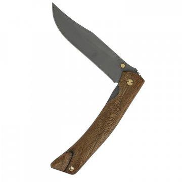 Складной нож Храбрец (сталь 95Х18, рукоять орех)