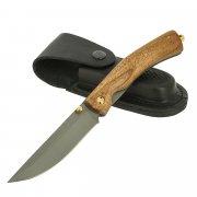 Складной нож Кайрос (сталь 95Х18, рукоять - орех) арт.11525