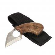 Нож Коготь (сталь AUS-6, рукоять орех)