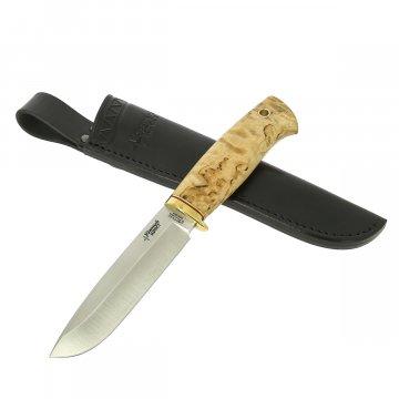 Нож Кречет (сталь N690, рукоять - карельская береза)