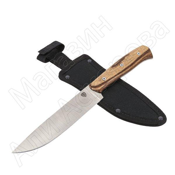 Нож Кухонный (сталь AUS-6, рукоять орех)