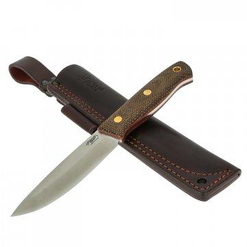 Нож Модель ХМ (сталь Elmax, рукоять микарта)