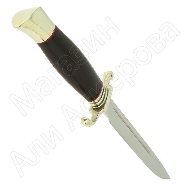 Нож НКВД (сталь D2, рукоять черный граб) арт.11427