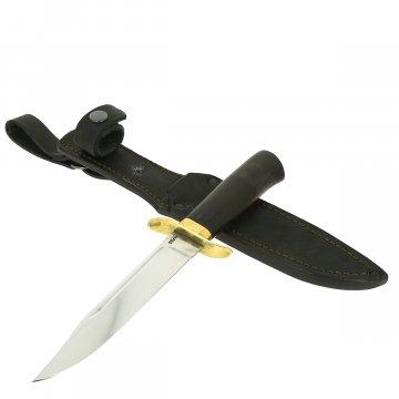 Нож НР-40 (сталь 95Х18, рукоять черный граб)