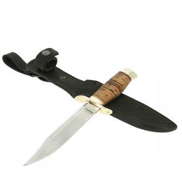 Нож НР-40 (сталь Х12МФ, рукоять береста)