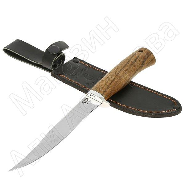 Нож Пескарь (сталь 65Х13, рукоять орех)