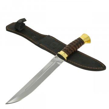 Нож пластунский (сталь 65Х13, рукоять венге)