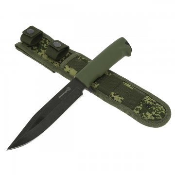 Нож Милитари Кизляр (сталь AUS-8, рукоять эластрон)