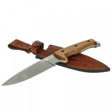 Нож Shark (сталь PGK TW, рукоять орех)