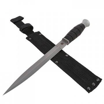 Нож Страйт (сталь 65Х13, рукоять резина)