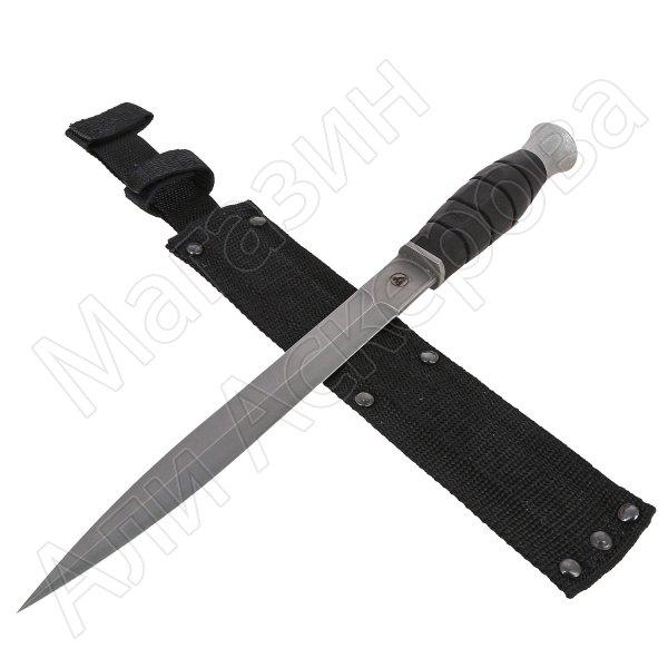 Нож Страйт (сталь AUS-6, рукоять резина)