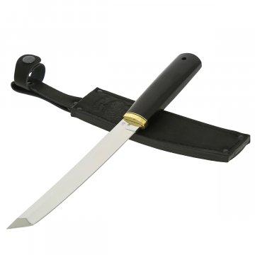 Нож Танто (сталь Х12МФ, рукоять черный граб)