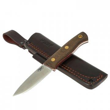Нож ЯГД (сталь Elmax, рукоять микарта)