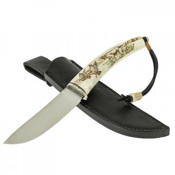 Нож Шмель (сталь D2, рукоять рог оленя)