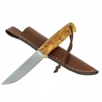 Нож Барбус (сталь Х12Ф1, рукоять карельская береза)