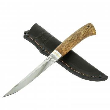 Нож Тундра (сталь 95Х18, рукоять карельская береза)