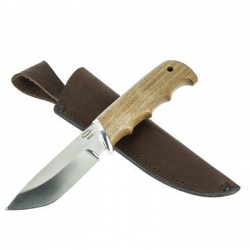 Нож Бобр (сталь 65Х13, рукоять орех)