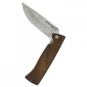 Складной нож Байкал (сталь Х50CrMoV15, рукоять орех)