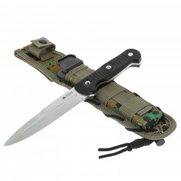 Нож Legion (сталь Niolox, рукоять G10, ножны камо)