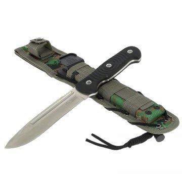 Нож Maximus (сталь D2 SW, рукоять G10, ножны камо)