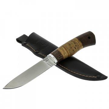 Нож Косач (сталь 65Х13, рукоять береста, венге)