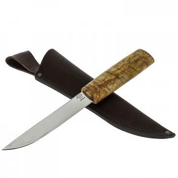 Нож Якут (сталь 95Х18, рукоять карельская береза)