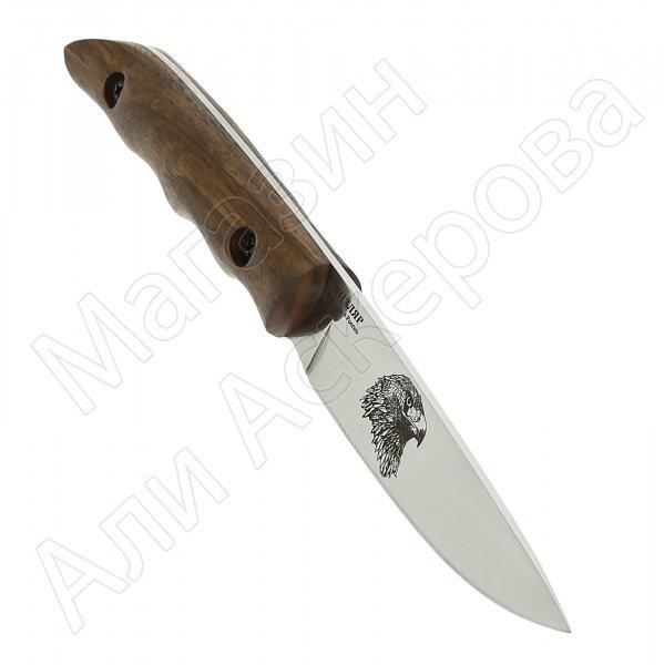 Нож Сокол (сталь Х50CrMoV15, рукоять орех)