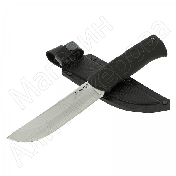 Нож Лесник (сталь Х50CrMoV15, рукоять эластрон)