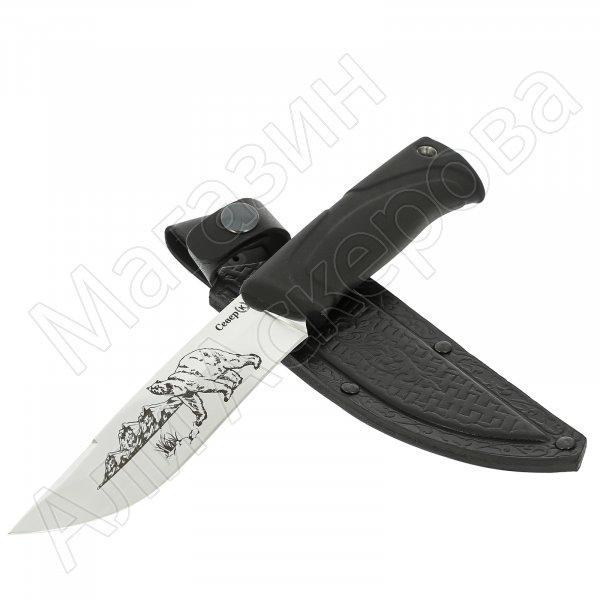Нож Север (сталь Х50CrMoV15, рукоять эластрон)