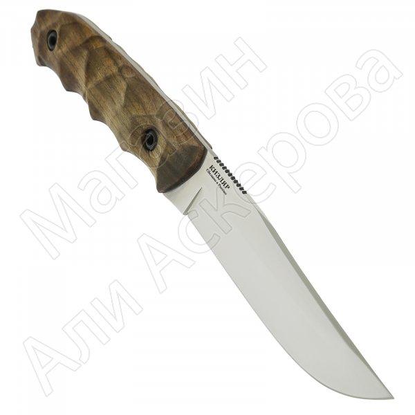 Нож Охотник (сталь Х50CrMoV15, рукоять орех)