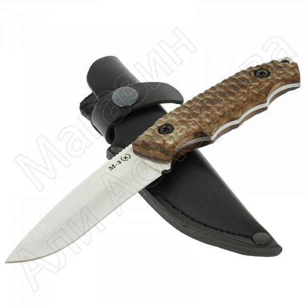 Нож М-3 (сталь Х50CrMoV15, рукоять орех)