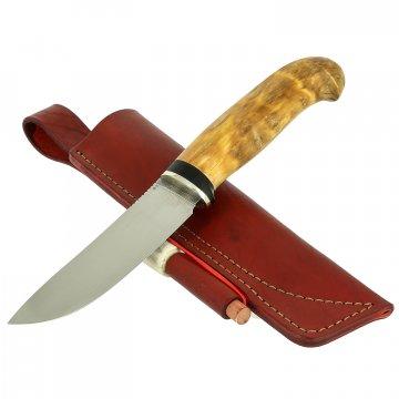 Нож Шмель (сталь D2, рукоять карельская береза)