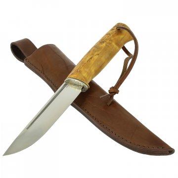 Нож Лиман (сталь K110, рукоять карельская береза)