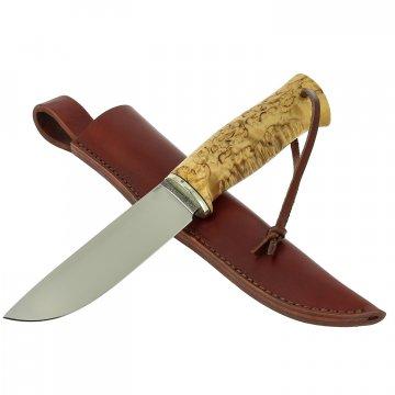 Нож Лиман (сталь 110Х18, рукоять стабилизированная карельская береза)
