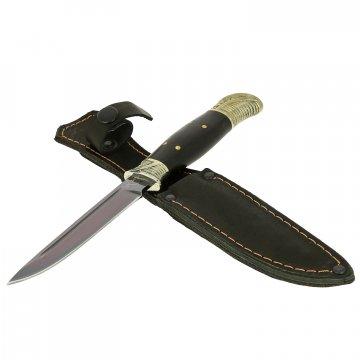 Нож Финка НКВД (сталь У8, рукоять черный граб)