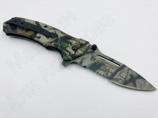 Складной нож Target Camo (сталь 8Cr13MoV, рукоять дюралюминий)
