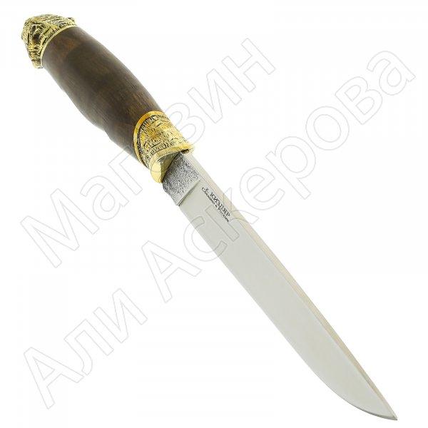 Разделочный нож Охота (сталь Х12МФ, рукоять граб)